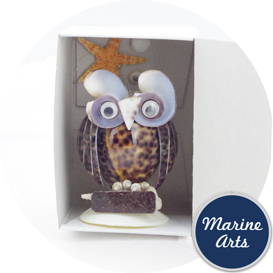 8144-P18 - Owl Pen Holder