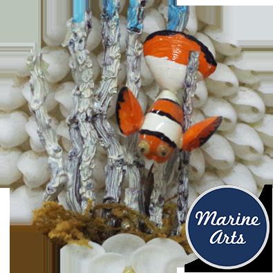 Clown fish scene marine arts wholesale shells for Clown fish price