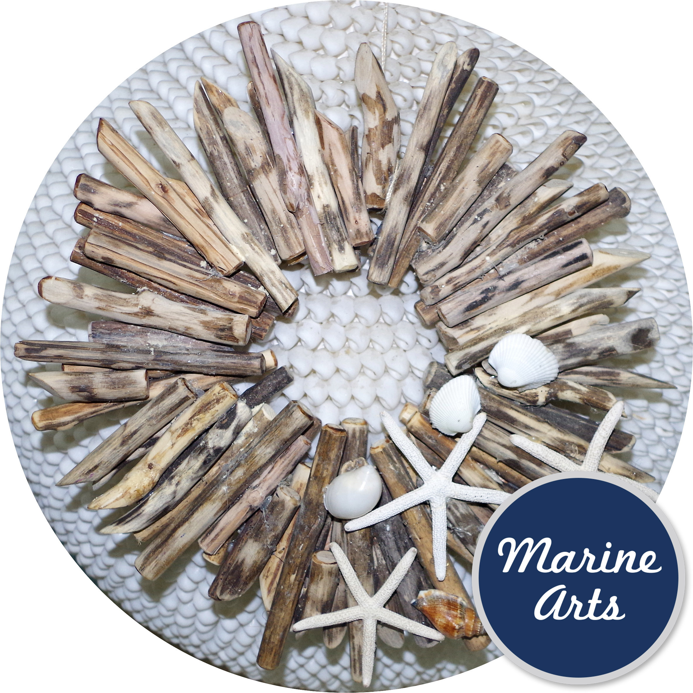 8324 - Natural Driftwood Wreath - Medium