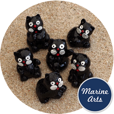 8025 - Black Cats - Small - 6 Pack