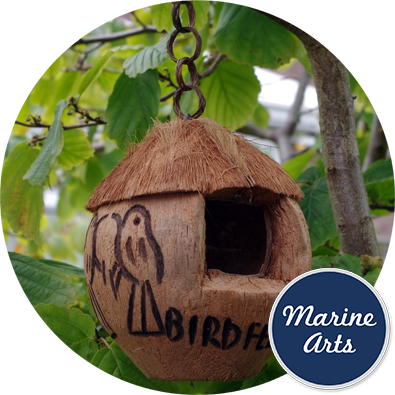 8101 - Bird Feeder - CoCo Nut